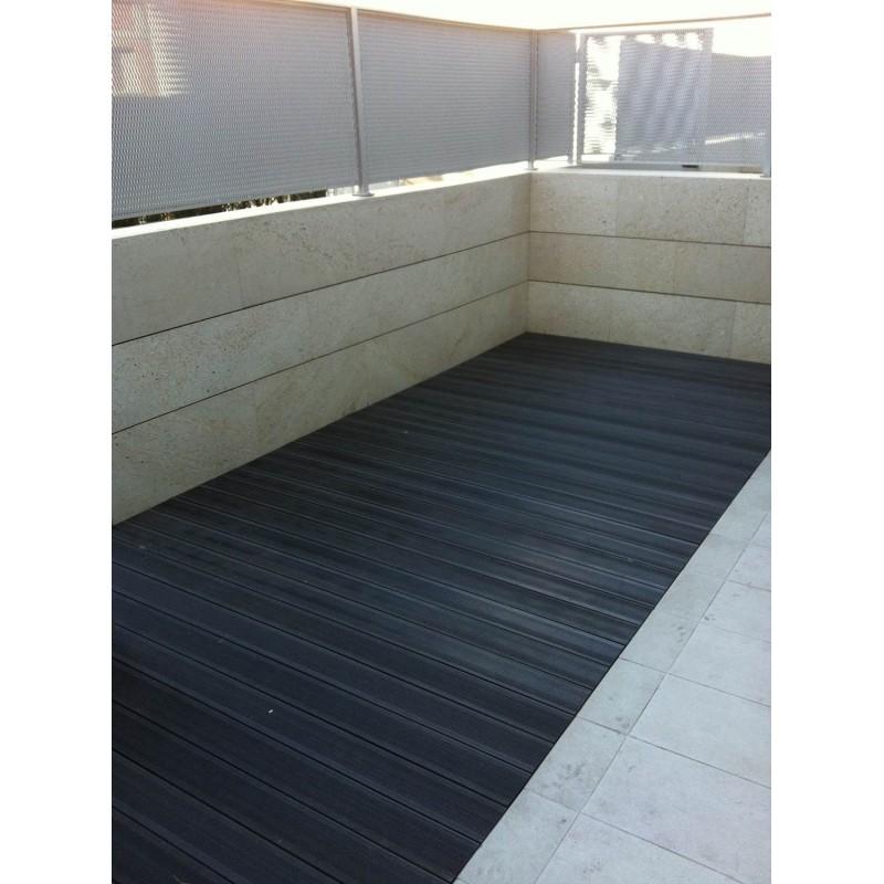 Tarima madera exterior terrazas resiste intemperie - Suelo exterior madera ...