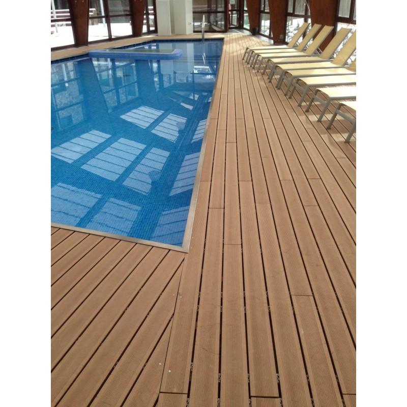 Suelo tarima terrazas madera wpc exterior mantenimiento - Suelo exterior madera ...
